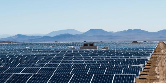 Centrale Solaire Total Nuevas Energias Chile - Sunpower
